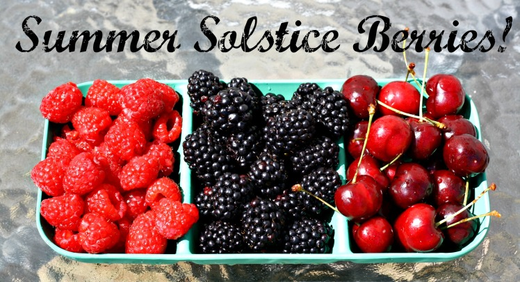 Summer Solstice Berries June 2016